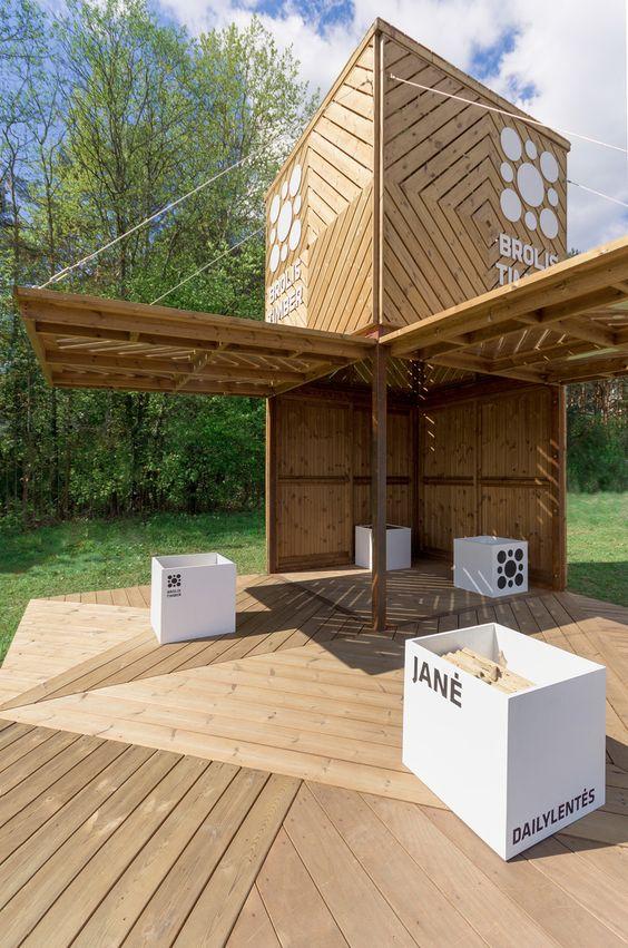 Brolis timber pavilion | AKETURI ARCHITEKTAI