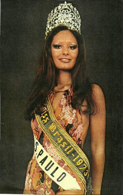 MISS SOROCABA Miss Brasil 1973 Sandra Mara