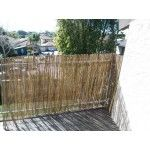 Natural Bamboo Roll Fence for small balcony