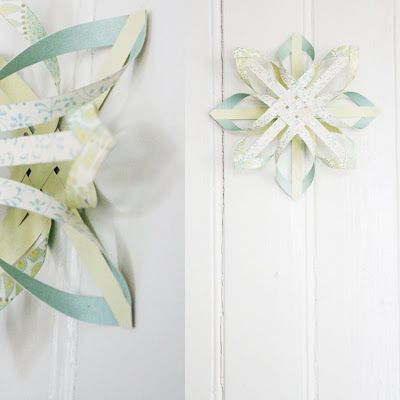 Finnish Paper Stars...  Get the how-to here: http://www.craftideas.info/html/finnish_paper_star.html