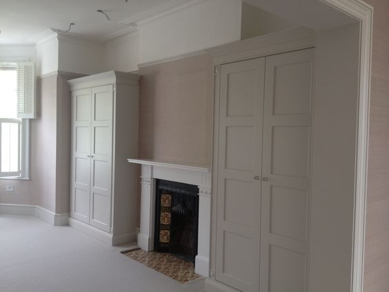 built in wardrobes victorian house - Google Search