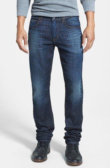 Hudson Jeans 'Blake' Slim Straight Leg Jeans (Motorhead) available at #Nordstrom