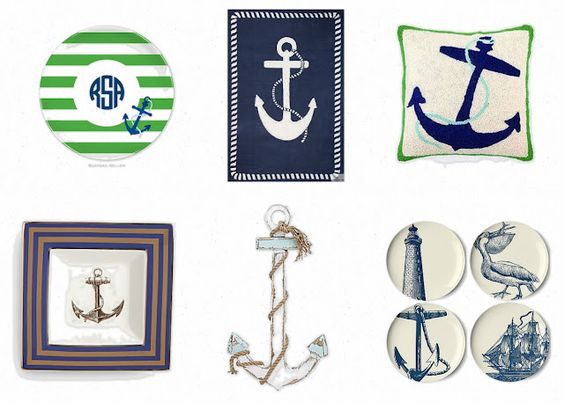 anchors...i could so do something like this