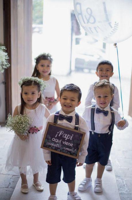 Los niños más hermosos para bodas en Bogotá 2020 en Pinterest