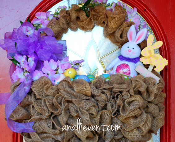 Hit or Miss - Easter Basket Wreath - An Alli Event