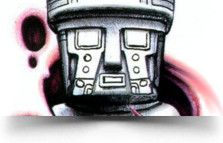 totem! Olmec God Tattoo