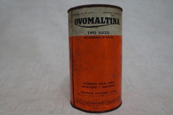 LATA ANTIGA OVOMALTINE DE 1965 - LOCAÇÃO - LOCAÇÃO DE EMBALAGENS ANTIGAS