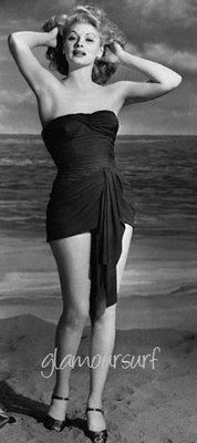 """This picture of Lucy was taken in 1943 for a film """"Best Foot Forward"""""""