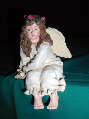 Angel sitter cute for that office friend gift 99 days till Christmas our store link is http://stores.ebay.com/store4angels?refid=store