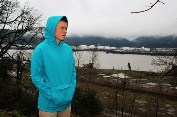 Waterproof. Windproof. Breathable. Sentri is an outdoor jacket in the body of a hoodie. Designed and made in Portland, Oregon.