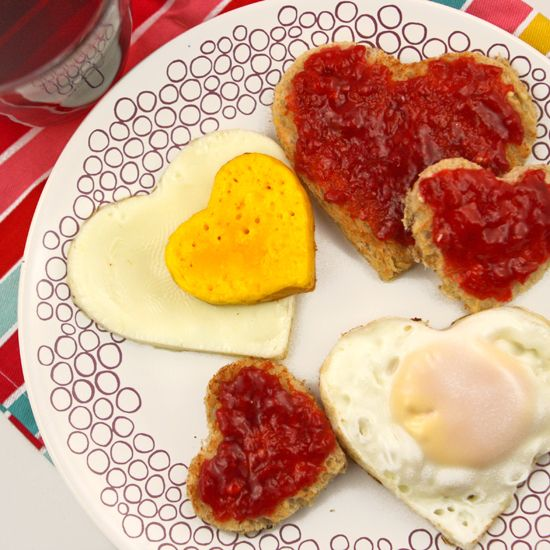 11 Father's Day Ideas, Gifts, and Quotes!. I suppose you could make these heart-shaped eggs and toast any day of the week, but why not let them be special for Father's Day?