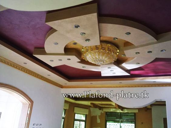 Faux plafond plâtre hallucinant 2013