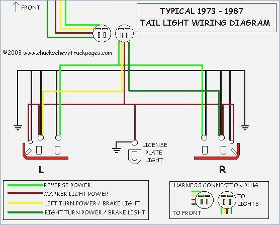 Headlight And Tail Light Wiring Schematic Diagram Typical 1973 Chevrolet Silverado Volkswagen Escarabajo Camionetas