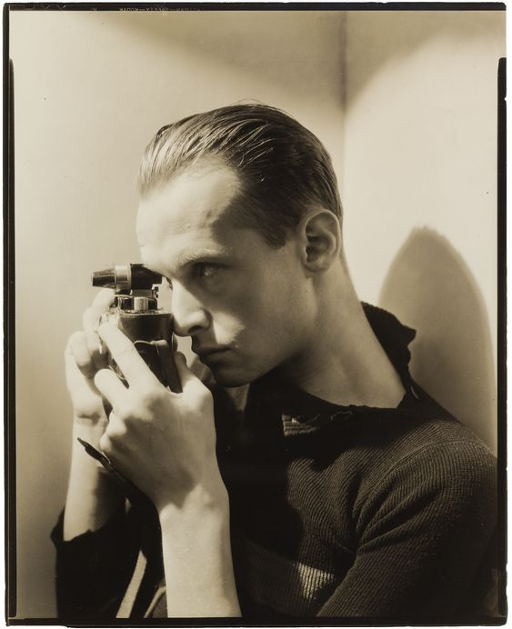 George Hoyningen-Huene :: portrait of young Henri Cartier-Bresson, 1935 [MoMA]