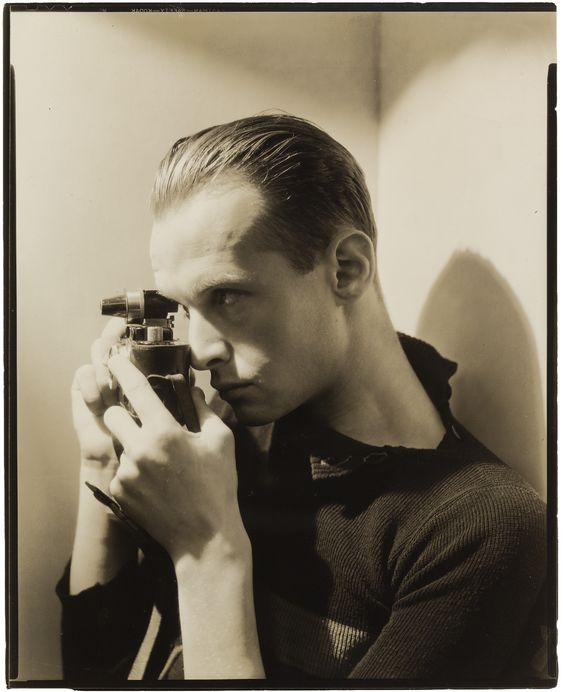George Hoyningen-Huene :: portrait of young Henri Cartier-Bresson, 1935 [MoMA]