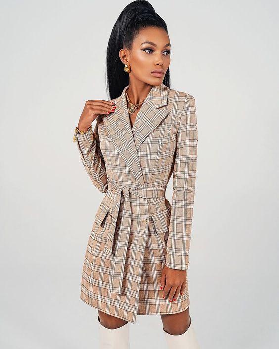💛💛💛Безупречное платье-пиджак под ботфорты 💛💛💛 Autumn 2019 by Dulcis Shop ✂️👗 ⠀ Самая идеальная коллекция 😍❤️ ⠀ Платье-пиджак под сапоги и…
