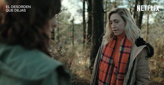 """Abril Zamora en """"El desorden que dejas"""" (Foto: Netflix)"""