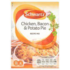 Schwartz New Limited Edition Chicken, Bacon&Potato Pie 35g