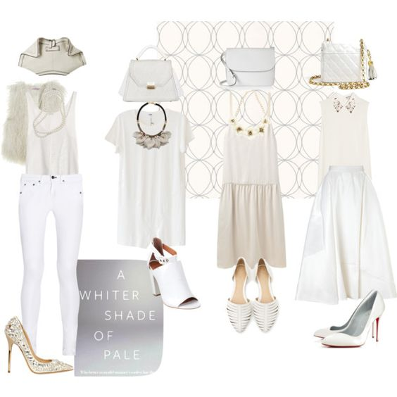 """""""white is white."""" by camariej on Polyvore"""