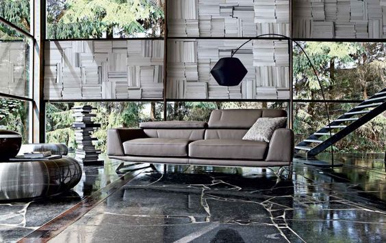 Living Room Inspiration: 120 Modern Sofas by Roche Bobois (Part 1/3) | HomeDSGN, a daily source for inspiration and fresh ideas on interior ...