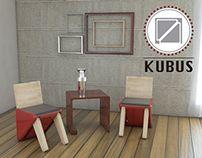 KUBUS - Living Room Furniture Set