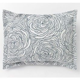 Sonia Floral Marine Standard Shams - also have in Euro / Dwell Studio