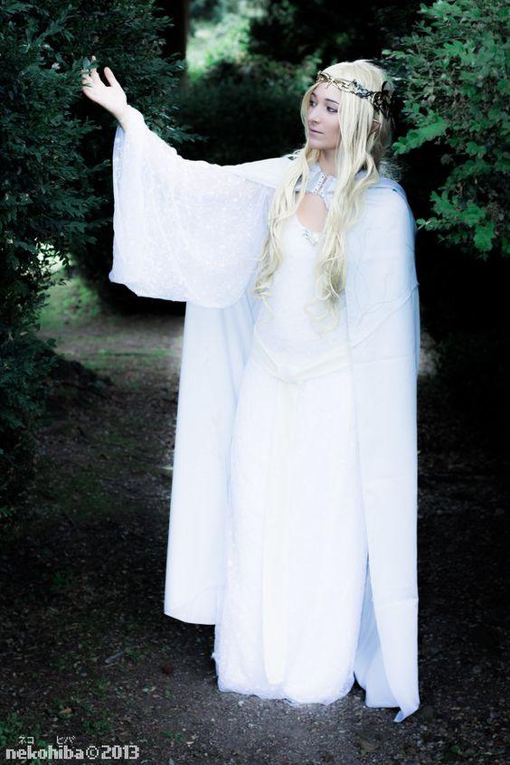 Galadriel, Lady of the Galadhrim ~2~ by NekoHibaPC