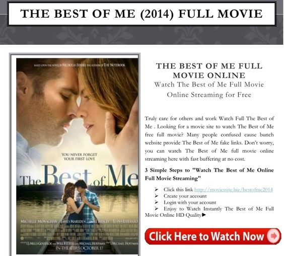 the best of me free movie