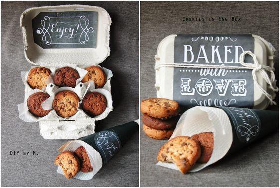DIY by M.: Cookies à offrir dans une jolie boite