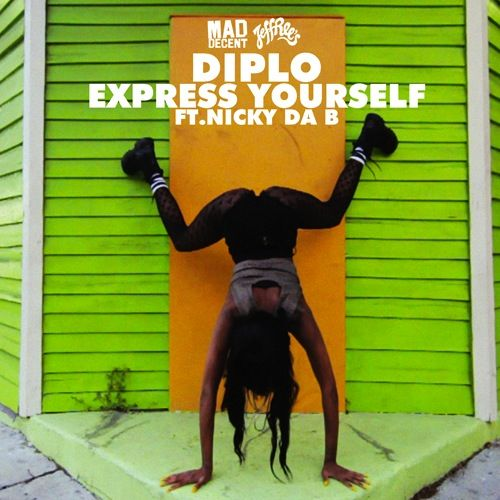 Diplo, Nicky Da B – Express Yourself (single cover art)