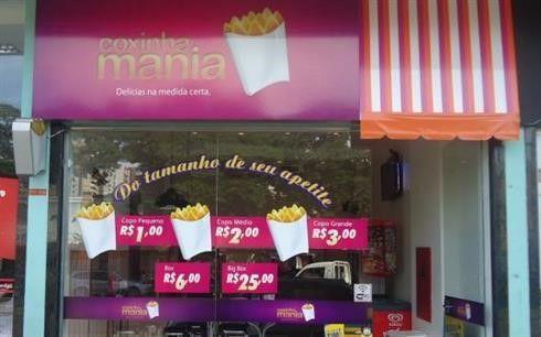 Coxinha Mania. #maringá