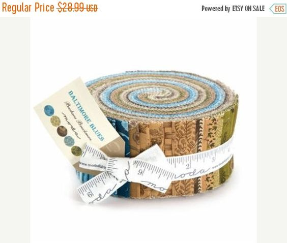 Back To School Sale Baltimore Blues Jelly Roll Barbara Brackman 8340JR