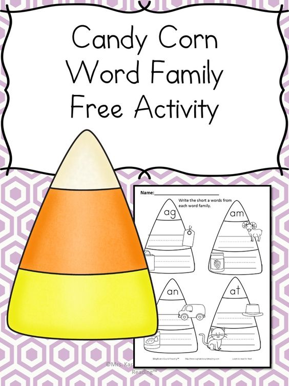 Halloween Phonics CVC Worksheet - Make learning fun! | Short a ...
