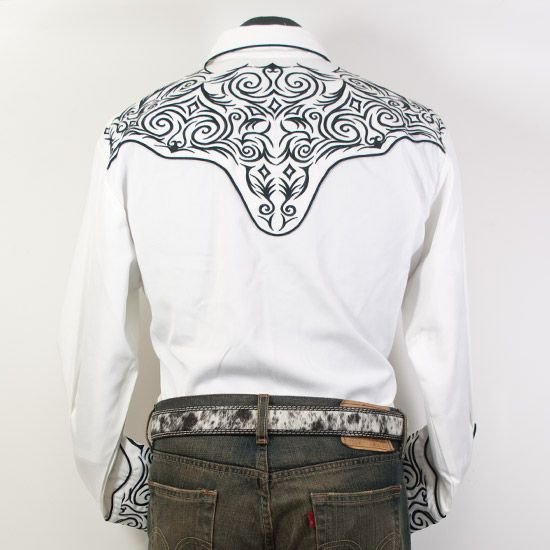 vintage contrast yoke western shirt jpg 853x1280