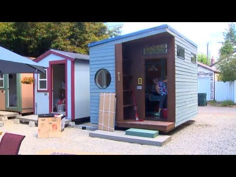 Tiny House Village For Homeless Women To Open In Seattle Youtube Tiny House Village Cheap Tiny House Tiny House Community
