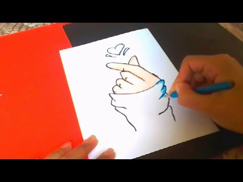 How To Draw A Girl Hand And Heart Youtube Hand Sketch Girls Hand Drawings