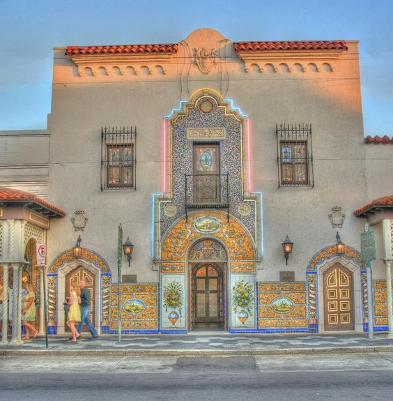 The Columbia Restaurant in Ybor City, Tampa, FL. Founded in 1905; it is the oldest and largest Spanish restaurant in the U.S.