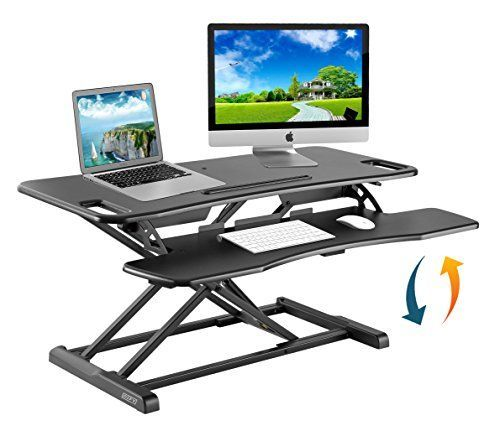 Height Adjustable Standing Desk Converter Ergonomic Sit Stand Black Adjustable Standing Desk Converter Adjustable Height Standing Desk Adjustable Standing Desk