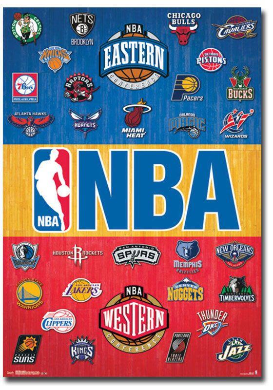 4 5 Nba National Basketball Association Logos Team Fridge Magnet Size 2 5 X 3 5 Ebay Collectibles Nba Logo Nba Basketball Sports Basketball