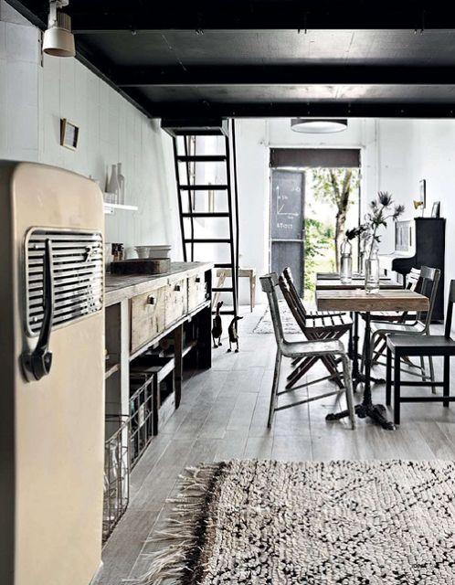 Reforma cocina (presupueston.com) de estilo rústico, muebles con ...