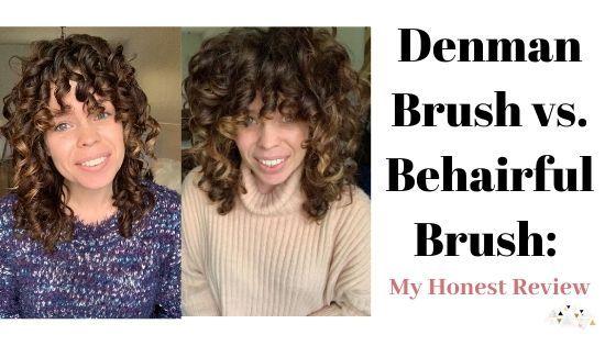 Denman Brush Vs Behairful Brush My Honest Review Colleen Charney Denman Brush Brush Best Detangling Brush