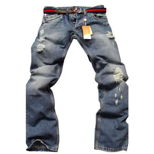 Mens Designer Clothes Gucci Mens Jeans With Belt 37