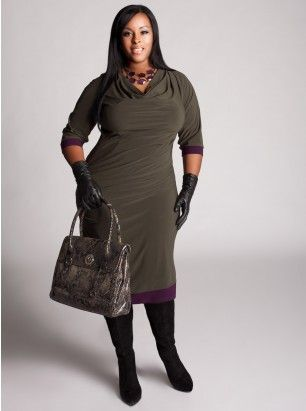 Provence Dress in Olive