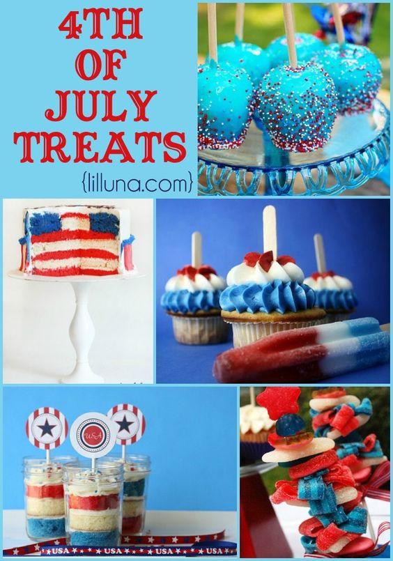july 4th chocolate desserts