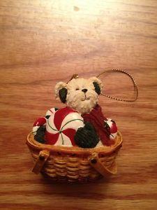 Boyds Bears Longaberger 2004 Ornament Flurrie Frostbeary   eBay