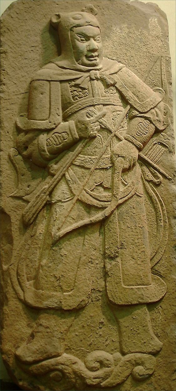 Another stone carving from a contemporary Five Dynasties Ten Kingdoms period tomb.