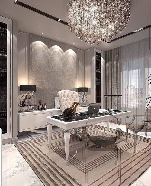 25 Pretty Makeup Looks To Try In 2019 Modern Office Interiors Office Interior Design Luxury Office Interior Design