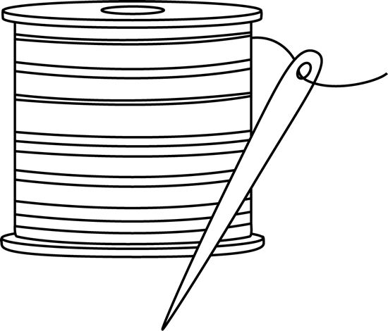 Needle and Thread Clip Art
