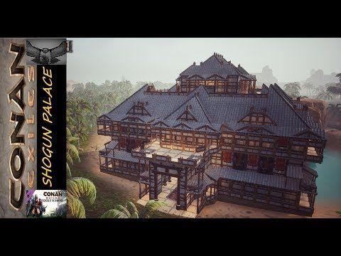 Conan Exiles Shogun Palace Youtube In 2020 Conan Exiles Conan Palace