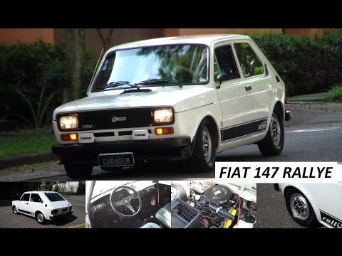 Garagem do Bellote TV: Fiat 147 Rallye - YouTube